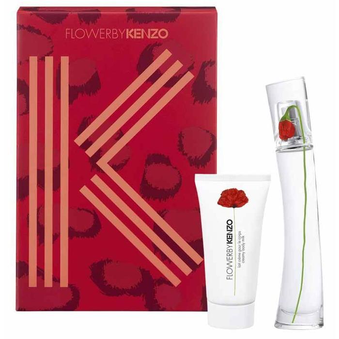 Kenzo  Cofanetto flower by kenzo  eau de parfum 30 ml  latte corpo 50 ml
