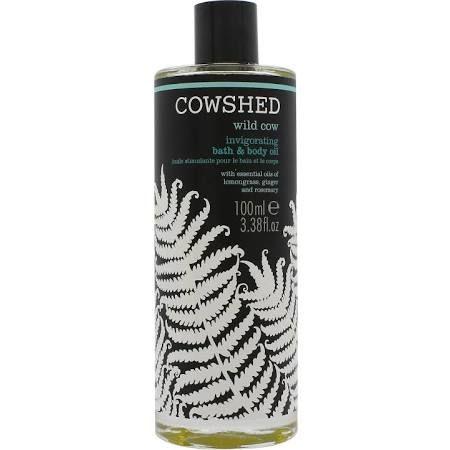 Cowshed Wild Cow Invigorating Olio da Bagno  Corpo 100ml