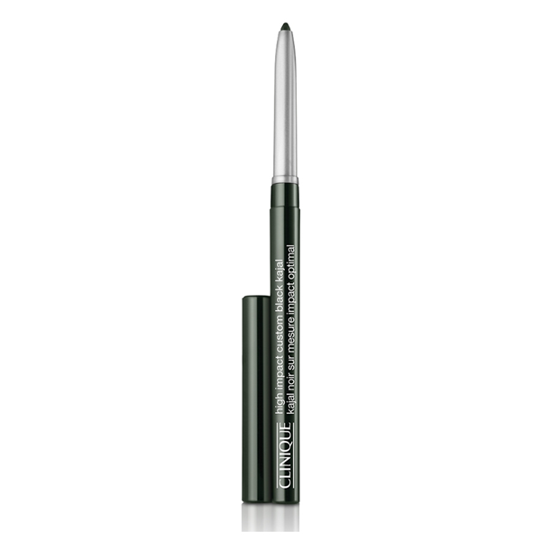 Clinique  High impact custom black kajal  matita occhi 03 blackened green
