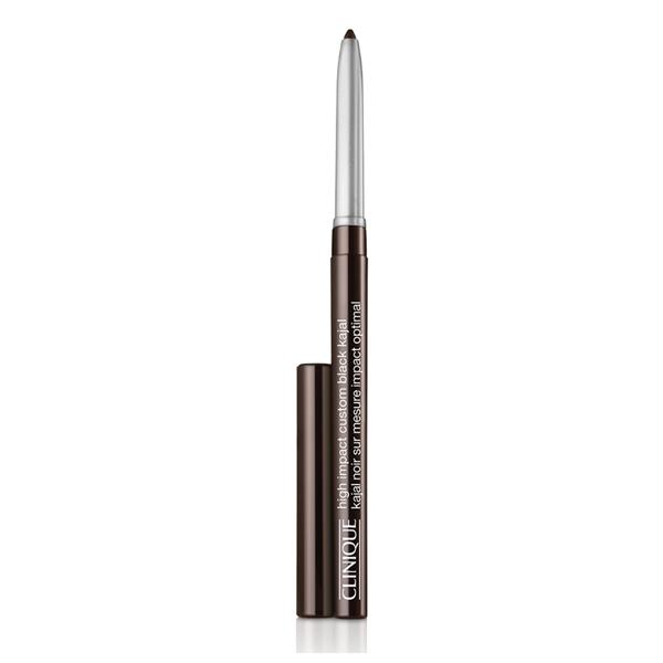 Clinique  High impact custom black kajal  matita occhi 02 blackened brown