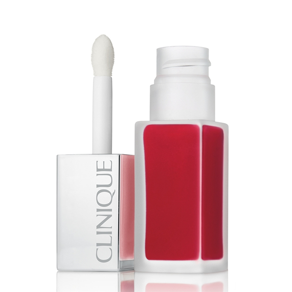 Clinique  Pop liquid matte lip colour  primer  rossetto liquido mat 02 flame pop
