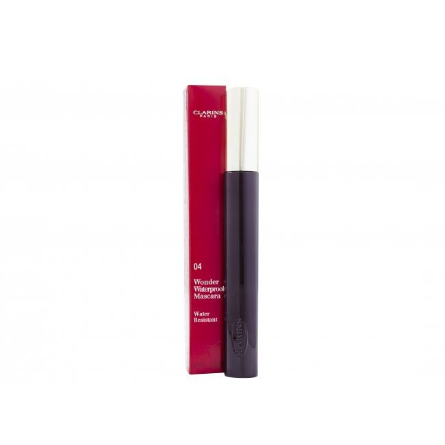 Clarins Wonder Mascara 7 ml Plum 04  Waterproof