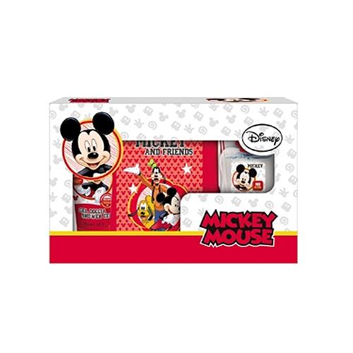 Disney  Cofanetto dellamicizia mickey mouse  profumo 50 ml  gel doccia 100 ml  zainetto in nylon