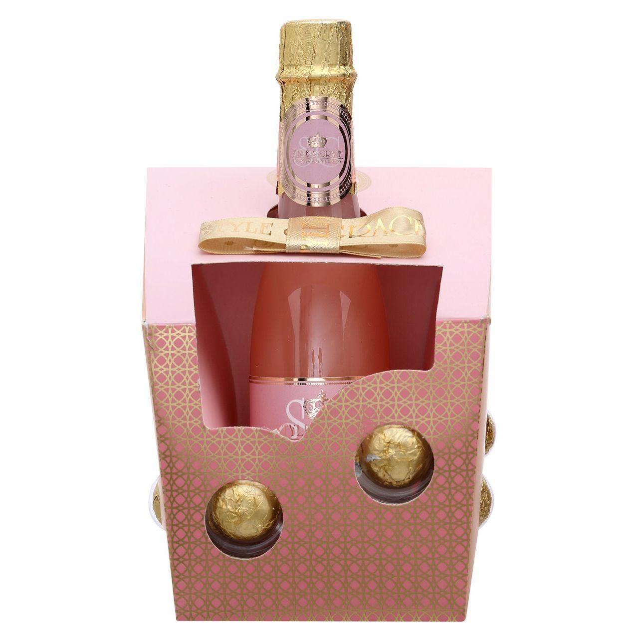 Style  Grace Utopia Champagne Bubbles Confezione Regalo 250 ml Champagne  6 Pearl Fizzers