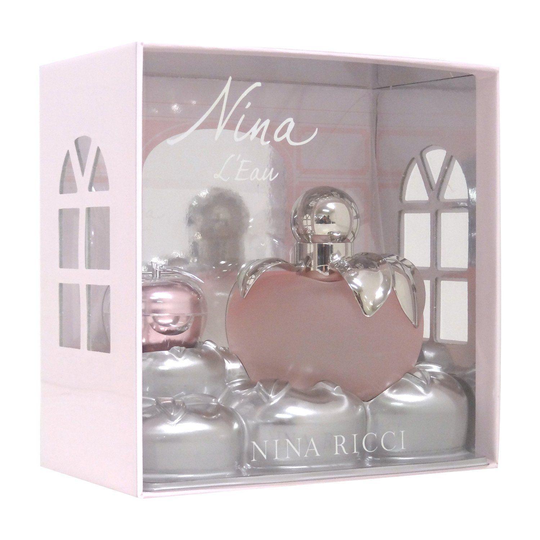 Nina Ricci Nina LEau Confezione Regalo 80 ml Eau Fraiche Spray  35 g Balsamo Labbra