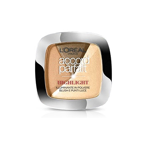 LOral Paris  Accord parfait highlight  illuminante in polvere blush e punti luce 102d scruro