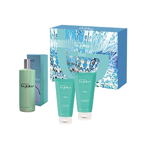 Byblos  Cofanetto mare  eau de toilette 120 ml  shower gel 100 ml  body lotion 100 ml