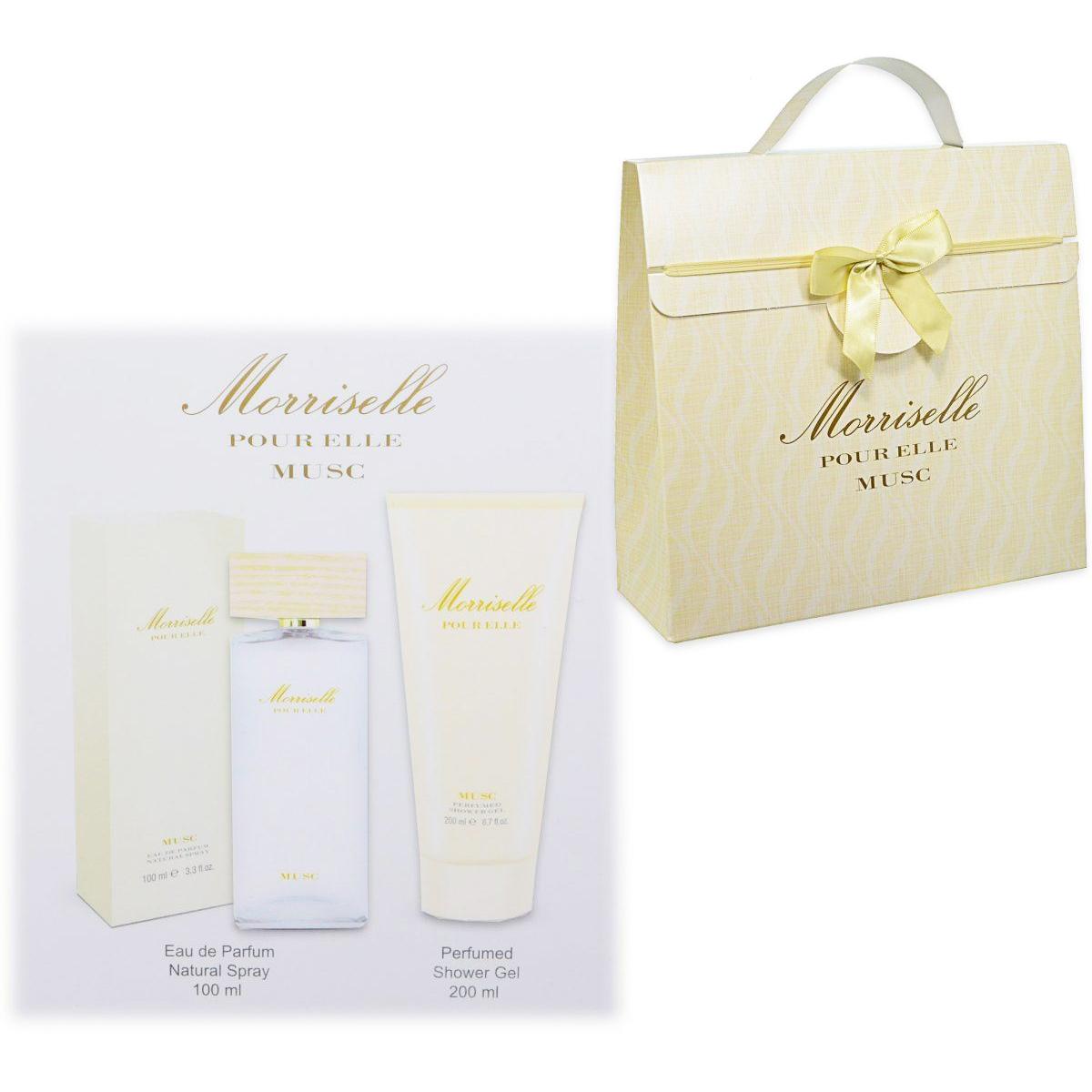 Morris  Cofanetto morriselle pour elle musc  eau de parfum 100 ml  body shower gel 200 ml