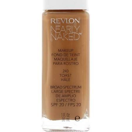 Revlon Nearly Naked Fondotinta 30ml Toast  SPF20