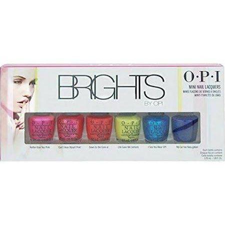 OPI Brights Confezione Regalo 6 x 375ml Smalti
