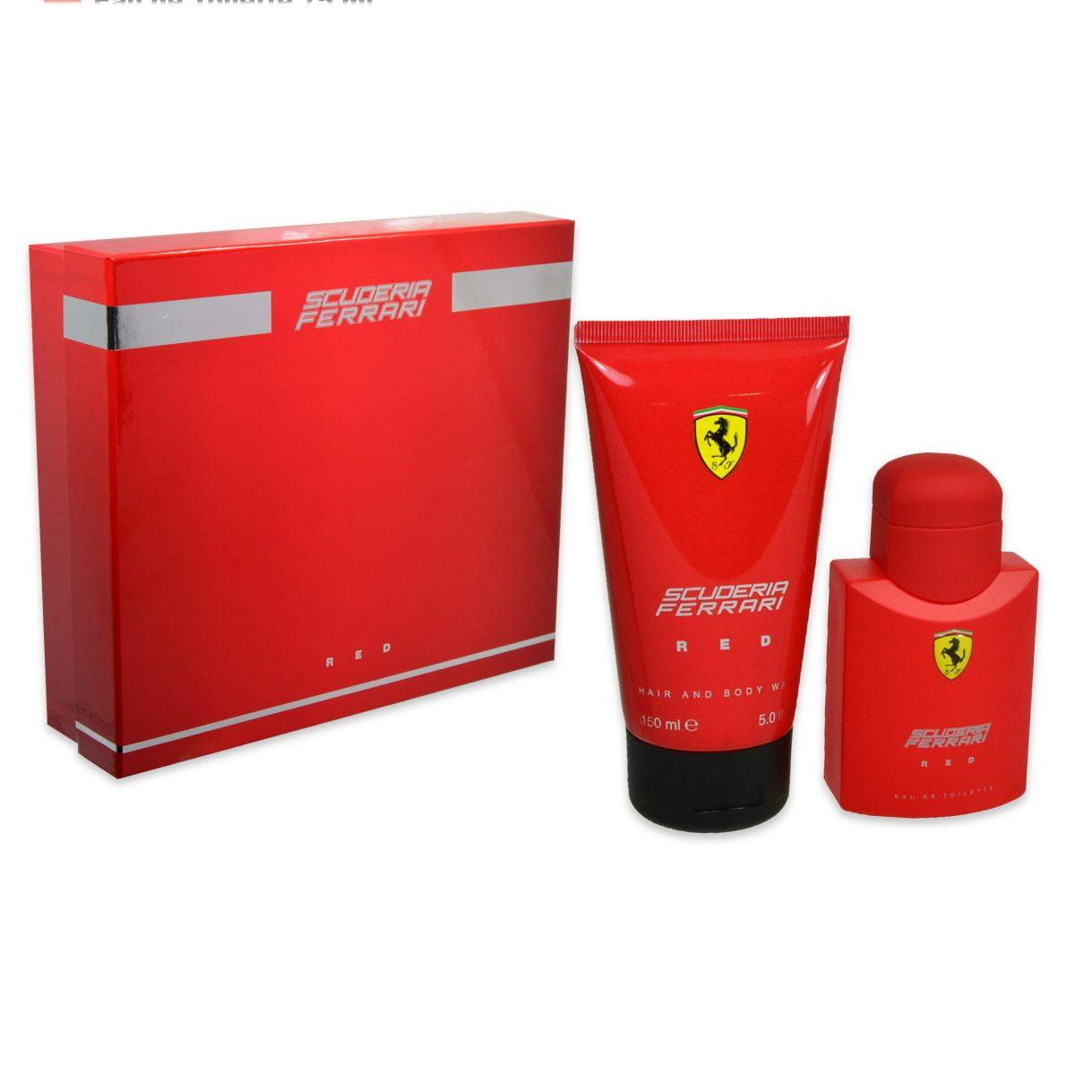 Ferrari  Cofanetto scuderia ferrari red  eau de toilette 75 ml  shower gel 150 ml