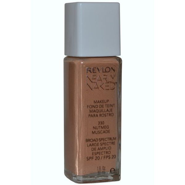 Revlon Nearly Naked Fondotinta 30 ml Nutmeg  SPF20