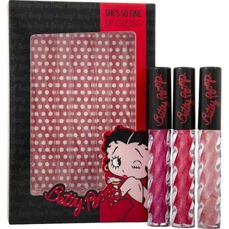 Betty Boop Betty Boop Confezione Regalo 3 x Lucidalabbra