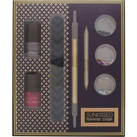 SUNkissed Nail Artisan Kit Confezione Regalo 8 Pezzi