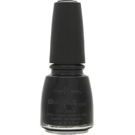 China Glaze Crackle Glaze Smalto 14ml  980 Black Mesh
