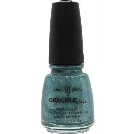 China Glaze Crackle Glaze Smalto 14ml Oxidised Aqua 1047