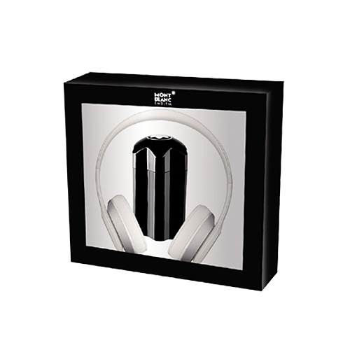 Montblanc  Cofanetto montblanc emblem  eau de toilette 100 ml  cuffie musica