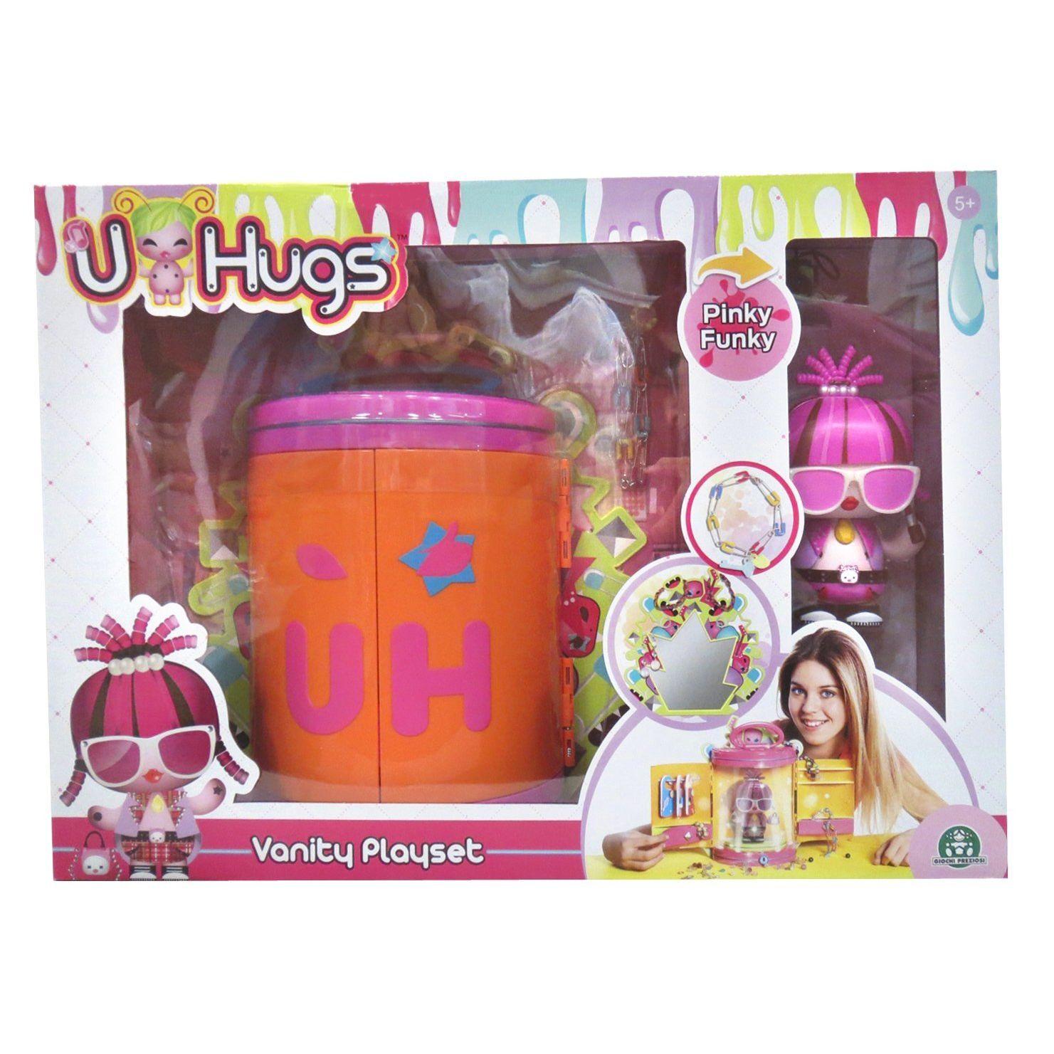 Giochi Preziosi Guardaroba Vanity Playset con Bambola e Braccialetto Luminoso