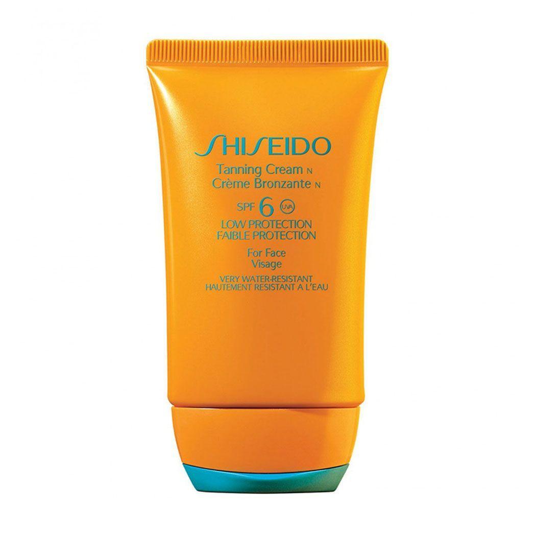 Shiseido Protective Tanning Cream SPF 6 Crema solare 50 ml