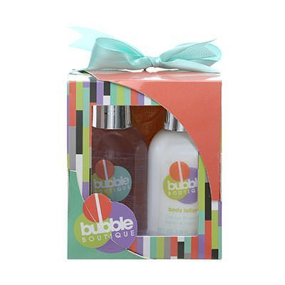 Style  Grace Bubble Boutique Mini Pamper Kit Confezione Regalo 100 ml Bagnoschiuma  100 ml Lozione Corpo  Esfoliante da Doccia