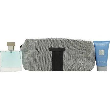 Azzaro Chrome Confezione Regalo 100ml EDT  30ml Balsamo Dopobarba  50ml All Over Shampoo
