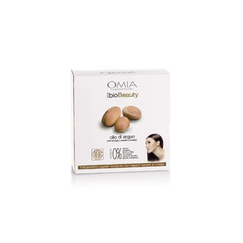 Omia  Cofanetto ecobio beauty hair set olio di argan  shampoo 250 ml  balsamo 200 ml  pettine denti larghi per condizionare  beauty case
