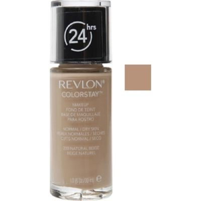 Revlon ColorStay Makeup Fondotinta 30 ml  SPF20 Natural Beige Pelle NormaleSecca