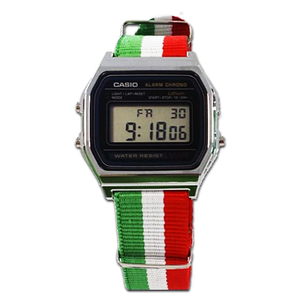 Orologio unisex Casio A158 ITALIA
