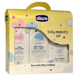 Chicco Baby Moments Set  Bagno  Crema  Colonia