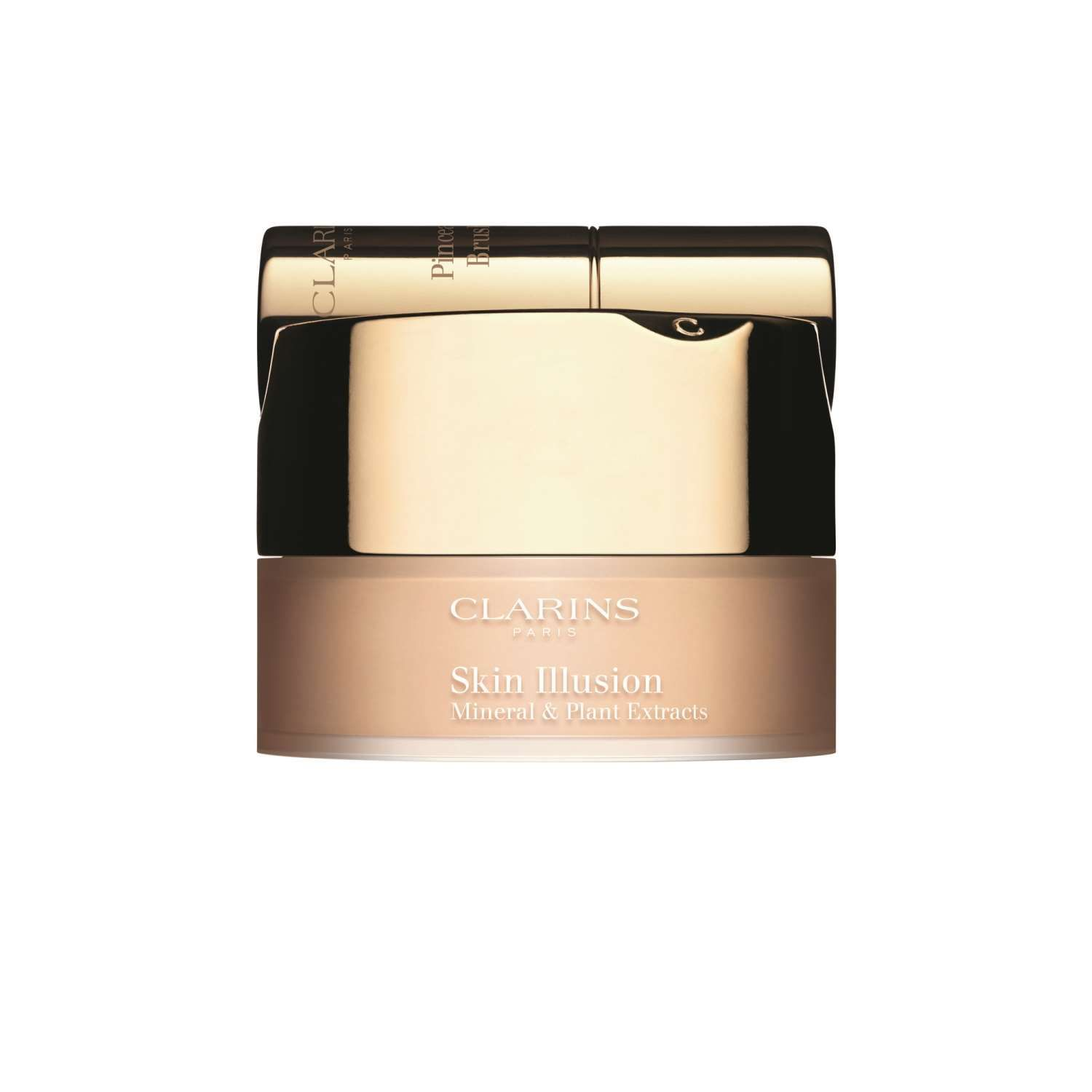 Clarins  Skin illusion mineral  plant extracts fond de teint poudre libre  fondotinta in polvere 112 amber