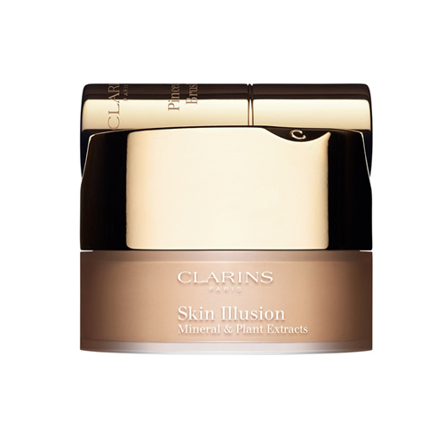 Clarins  Skin illusion mineral  plant extracts fond de teint poudre libre  fondotinta in polvere 110 honey