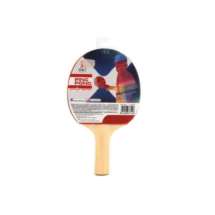 Globo Racchetta da Ping Pong in Legno 2 Stelle