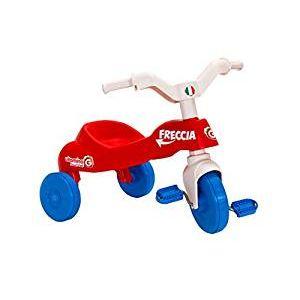 Globo  Triciclo Freccia in Plastica Rosso