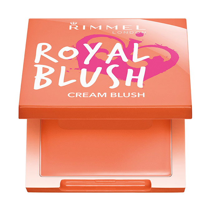 Rimmel Royal blush fard in crema peach jewel