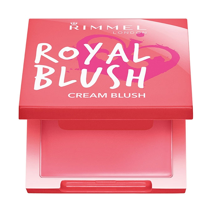 Rimmel Royal blush fard in crema majestic pink
