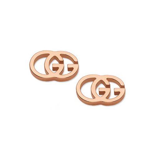 Orecchini Gucci RUNNING G YBD094074003 Oro Rosa