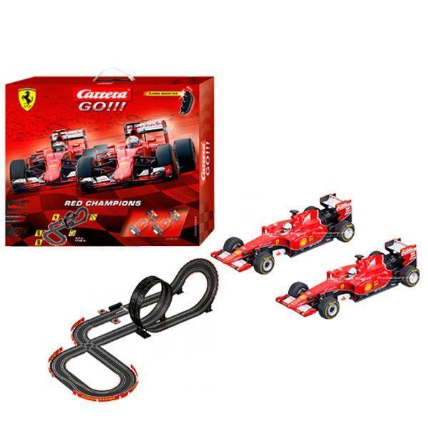 Carrera  Pista Red Champions