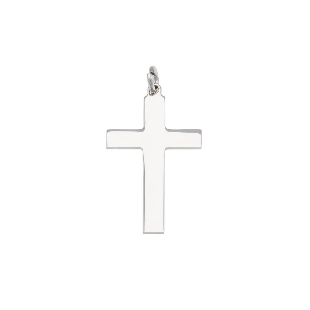 Paclo 16CR30REPR999 argento ag 925 Pendente Galvanica Rodiata Motivo Religioso 26cm