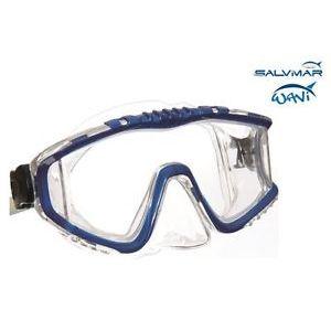 Salvimar  Maschera Full Vision Softil Blu