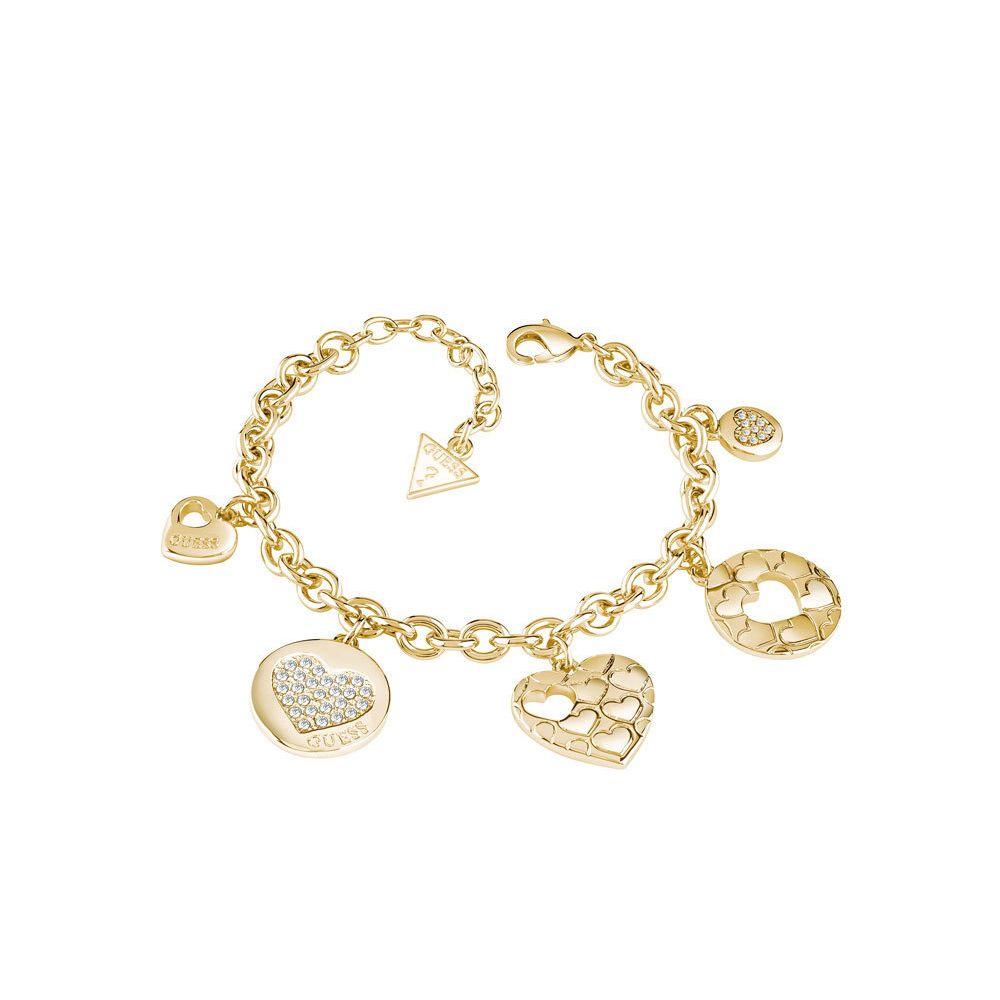 bracciale Guess donna UBB82049S Heart Devotion