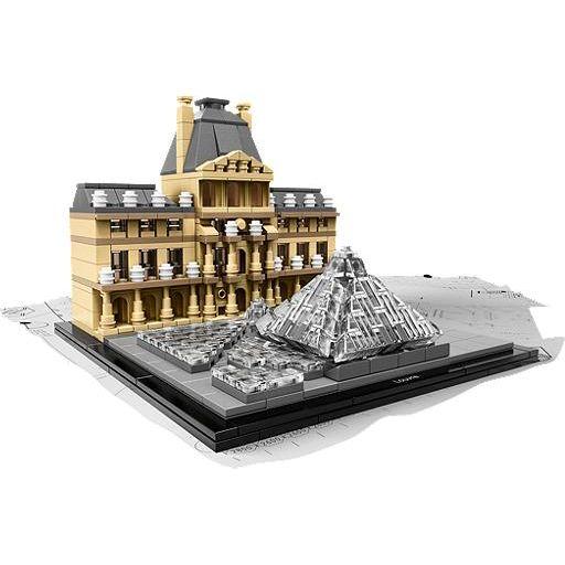 Lego Architecture  Louvre