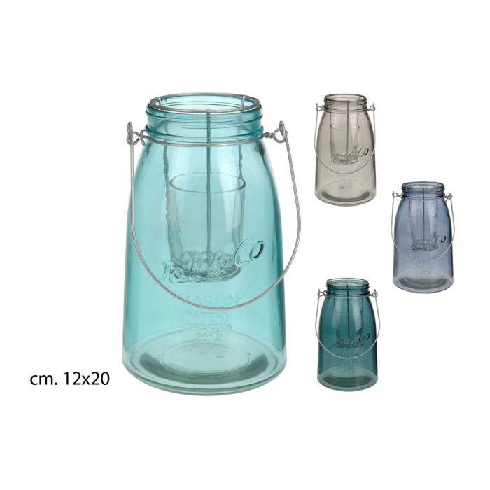 SinSIn  Lanterna Tealight in vetro  COLORI ASSORTITI
