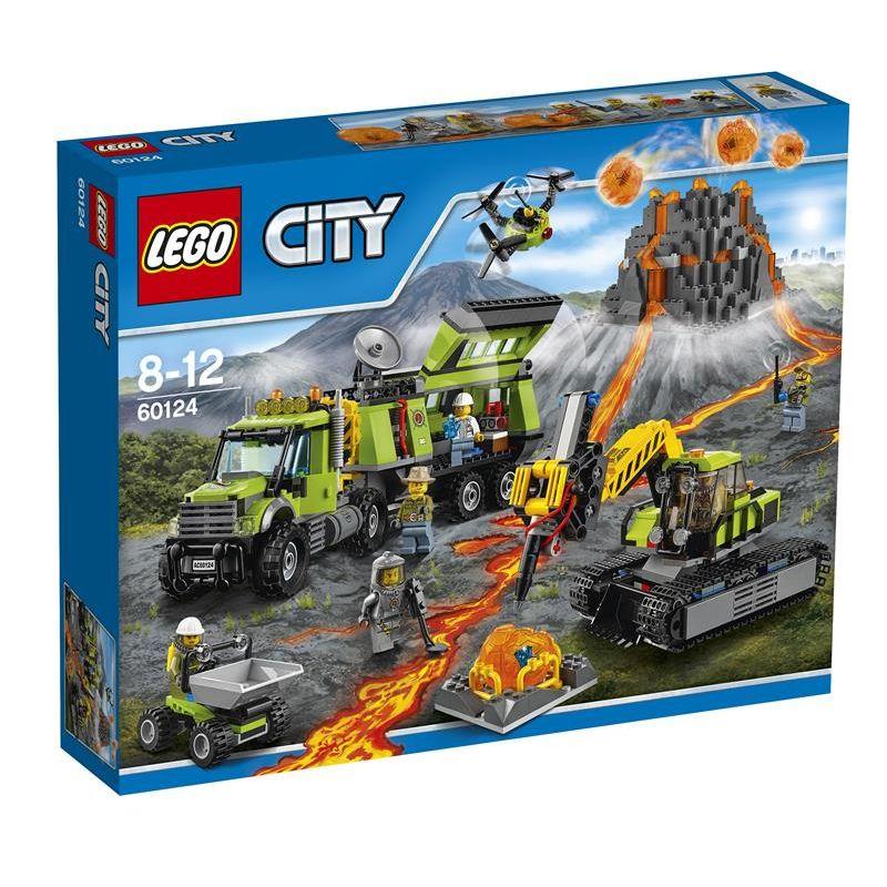 Lego City   Base delle Esplorazioni Vulcanica