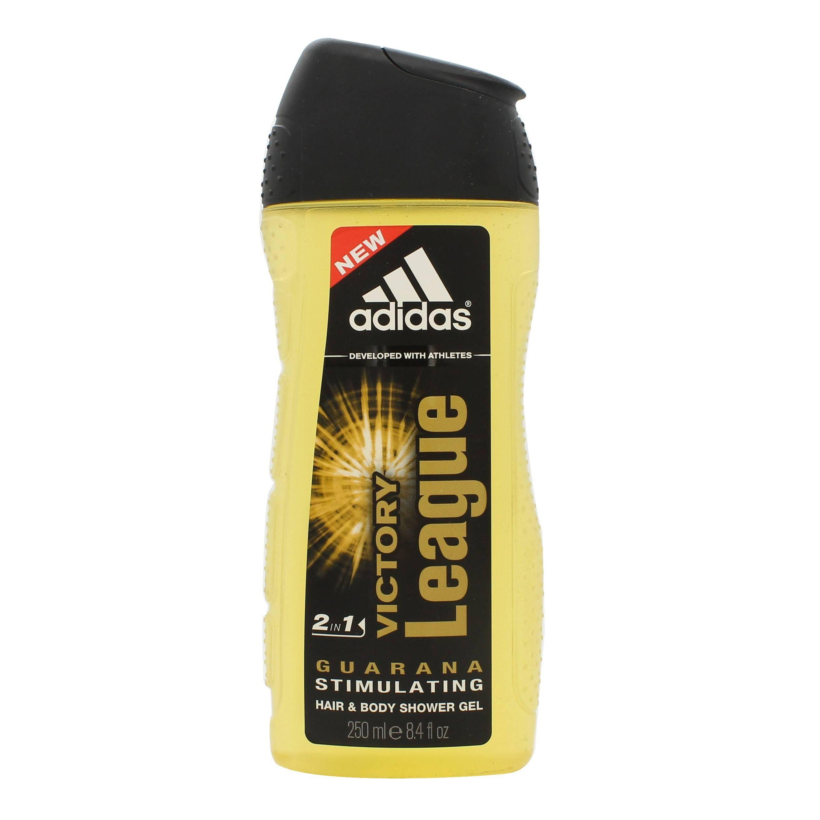 Adidas Victory League 2 in 1 Shampoo  Gel Doccia 250ml