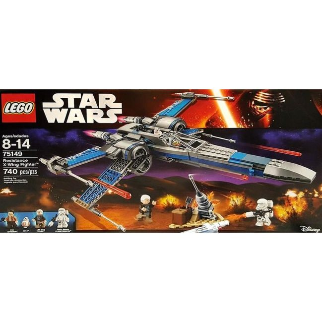 Lego Star Wars  Resistance XWing Fighter