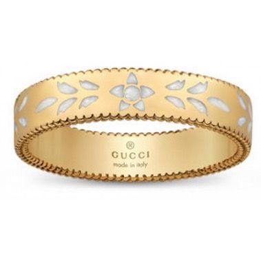 anello Gucci donna YBC434541001013 mod Icon Blossom