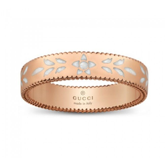 anello Gucci donna YBC434541002012 mod icon Blossom
