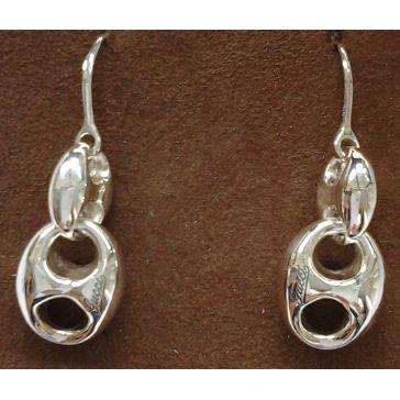orecchini Gucci donna 163181J840031 mod marina chain