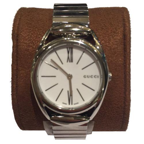 orologio gucci donna YA140505 mod horsebit