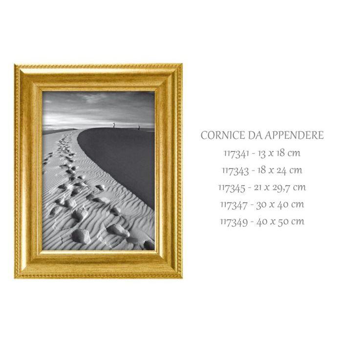 SinSin  Cornice da Appendere Ray Oro 18x24 cm 117343
